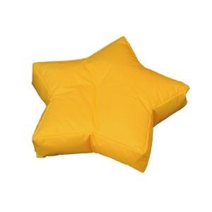 """Coussin forme """"étoile"""", déhoussable en tissu à poser/à suspendre, 3 tailles"""