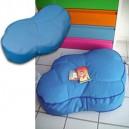 """Coussin forme """"nuage"""", déhoussable en tissu à poser/à suspendre, 3 tailles"""