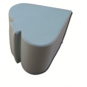 Pouf en mousse forme PIC H35cm x L35cm 15 couleurs au choix