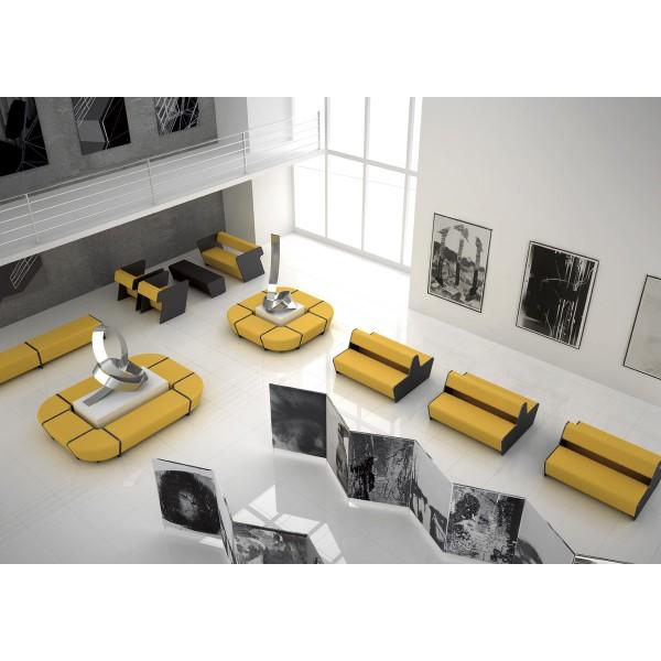 banc d 39 angle ferm 90 pour compositions. Black Bedroom Furniture Sets. Home Design Ideas