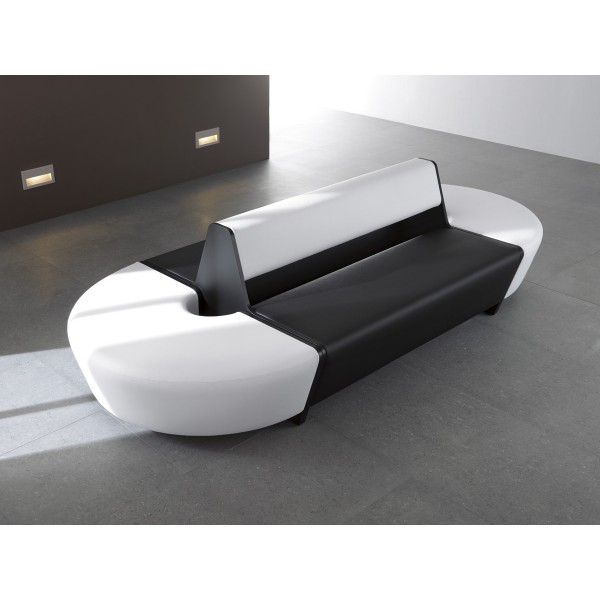Banquette modulable double face 2 x 2 places en boltaflex for Banquette 2 places design