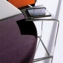 Petite table basse mobile pour  pour gammes de chauffeuses modulables 21037-21049