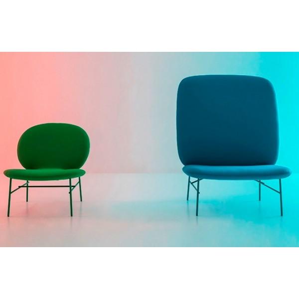 chauffeuse 1 place aux lignes arrondies et sobres. Black Bedroom Furniture Sets. Home Design Ideas