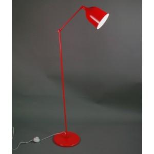 Lampadaire BAS à 1 bras articulé style pop, fun en métal couleur