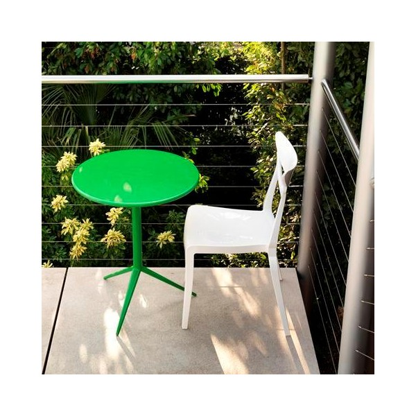 Table ronde bistrot pour ext rieur - Table exterieur ronde ...