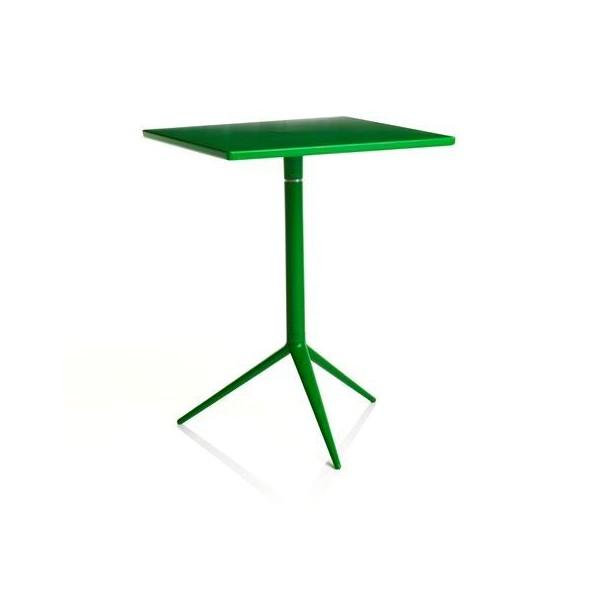 table carr e bistrot pour ext rieur. Black Bedroom Furniture Sets. Home Design Ideas