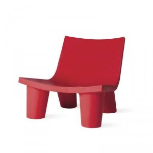 Large chauffeuse basse design pour EXTERIEUR OU INTERIEUR  en Polyéthylène couleur
