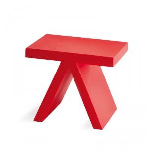 Tabouret-table d'appoint  FUN pour EXTERIEUR OU INTERIEUR en Polyéthylène couleur