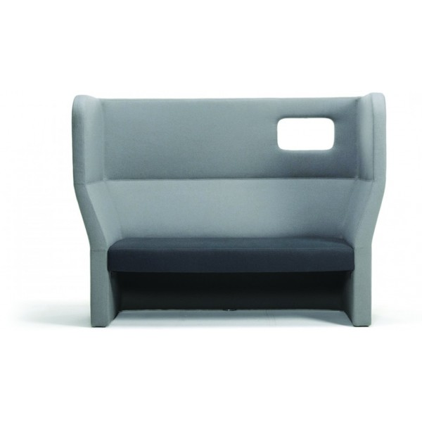 Fauteuil haut cocooning - Chauffeuse simili cuir ...