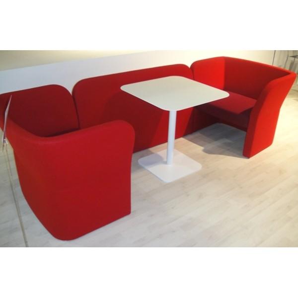 canap bas enveloppant simili cuir non feu. Black Bedroom Furniture Sets. Home Design Ideas