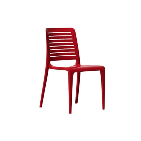 chaise d 39 ext rieur conomique empilable 4 pieds en. Black Bedroom Furniture Sets. Home Design Ideas