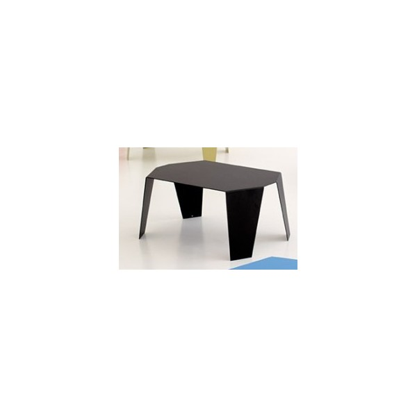 petite table basse design tout m tal monobloc couleur dim. Black Bedroom Furniture Sets. Home Design Ideas