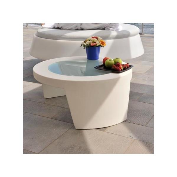 table basse design ronde exterieur interieur. Black Bedroom Furniture Sets. Home Design Ideas