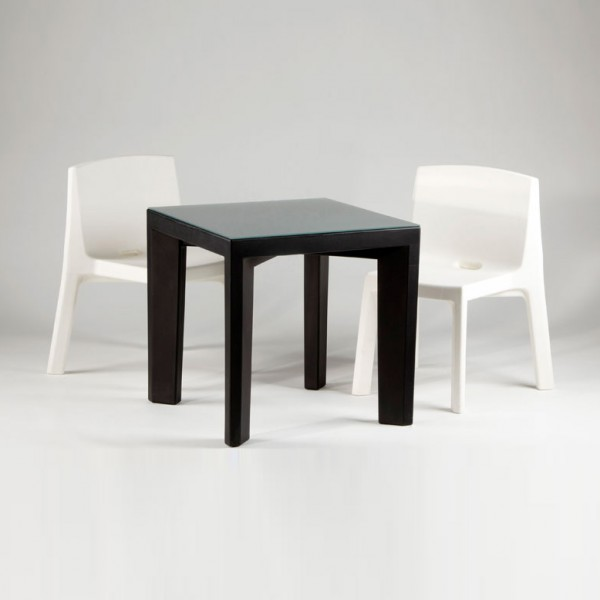 table 4 pieds design pour interieur ou exterieur. Black Bedroom Furniture Sets. Home Design Ideas