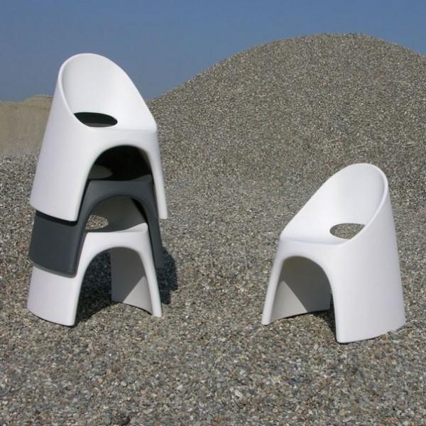 chauffeuse design pop empilable pour interieur ou. Black Bedroom Furniture Sets. Home Design Ideas