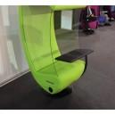 Tablette orientable pour fauteuil acoustique SILENCE SOUND CENTER