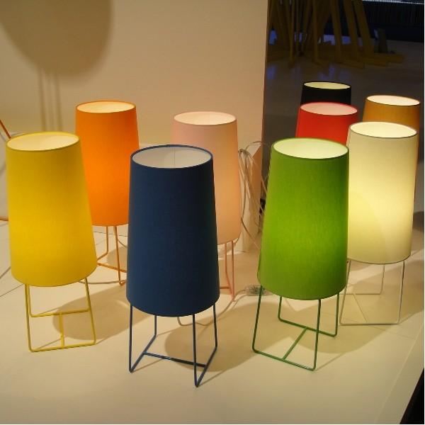 lampe de salon design haut abat jour chintz pieds fins acier  5 Bon Marché Lampadaire Design Salon Hjr2