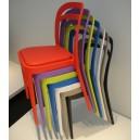 Chaise fun pour EXTERIEUR OU INTERIEUR  tout en PPP couleur