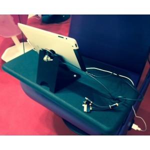 Support ANTIVOL pour fixation d'1 tablette numérique sur le fauteuil SILENT SOUND CENTER