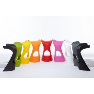 Tabouret HAUT ULTRA -DESIGN pour EXTERIEUR OU INTERIEUR  en Polyéthylène couleur