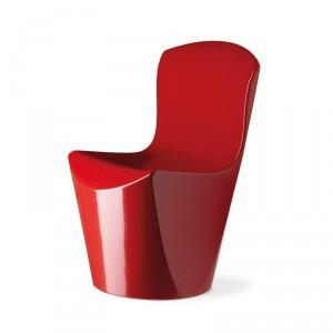 Chauffeuse haute MONOBLOC design MONOBLOC pour INTERIEUR ou EXTERIEUR en Polyéthylène couleur