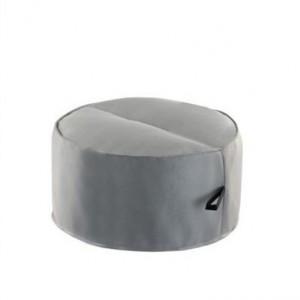 Pouf moelleux ultra confort et ultra large - Revetement simili cuir ...