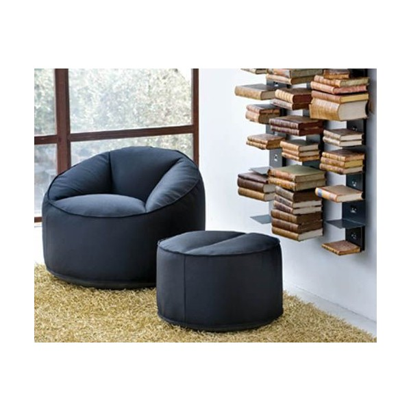 pouf moelleux ultra confort. Black Bedroom Furniture Sets. Home Design Ideas
