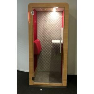 Cabine acoustique individuelle STAND UP BOX FERMÉE