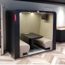 Cabine acoustique SIXO SEMI-OUVERTE