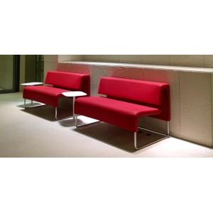 banquette contemporaine 2 places sobre droite. Black Bedroom Furniture Sets. Home Design Ideas