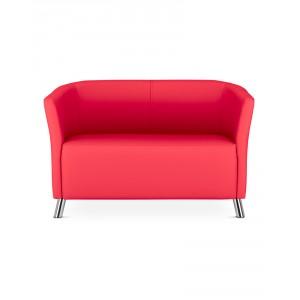 banquette design enveloppante 2 places simili cuir. Black Bedroom Furniture Sets. Home Design Ideas