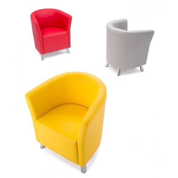 chauffeuse design enveloppante 2 places simili cuir. Black Bedroom Furniture Sets. Home Design Ideas