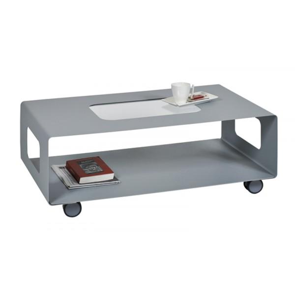 table basse sur roulettes table basse avec rangement. Black Bedroom Furniture Sets. Home Design Ideas