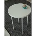 Table basse RONDE ECO 4 pieds, diam. 40cm, 2 hauteurs 40 et50cm