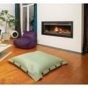 Fauteuil moelleux indoor / outdoor en tissu mesh
