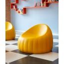 Chauffeuse Lounge confortable en polyuréthane souple assise H 64cm indoor et outdoor