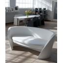 Canapé ultra DESIGN pour EXTERIEUR OU INTERIEUR  en Polyéthylène couleur Dim.L170xP80Xh75cm