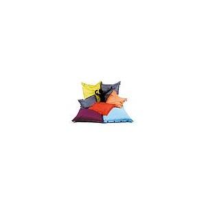 coussin-pouf de détente INDOOR / OUTDOOR, assemblable, déhoussable dim. 100x100cm