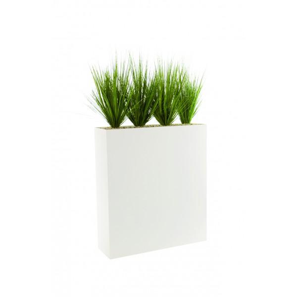 jardini re haute garnie de gramin es artificielles. Black Bedroom Furniture Sets. Home Design Ideas